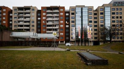 Das Gebiet Hertizentrum erhält einen neuen Bebauungsplan. (Bild: Stefan Kaiser (Zug, 1. März 2017))