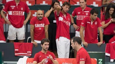 Davis Cup und Fed Cup im Februar in Biel