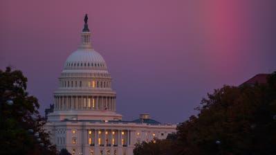 Das Kapitol in Washington, Sitz des amerikanischen Parlamentes. (Bild: Erik S. Lesser/EPA, 6. November 2018)