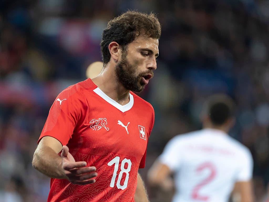Admir Mehmedi ist verletzt - seine Torgefährlichkeit könnte der Nati fehlen (Bild: KEYSTONE/GEORGIOS KEFALAS)