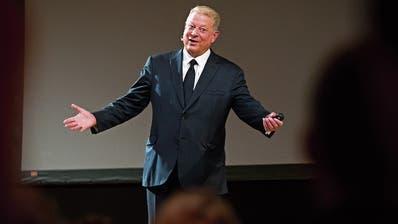 Ex-US-Vizepräsident Al Gore. Bild: Heiko Junge/AP (Oslo, 7. November 2018)