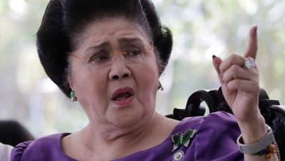 Philippinische Ex-First Lady Imelda Marcos zu Haft verurteilt