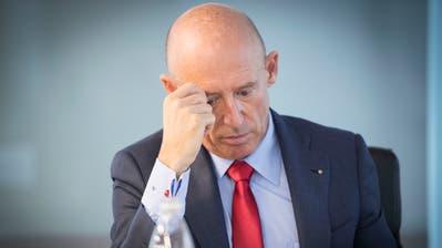 Eigentlich hätte Patrik Gisel noch zwei Monate Raiffeisen-CEO bleiben sollen. (Bild: Ralph Ribi)