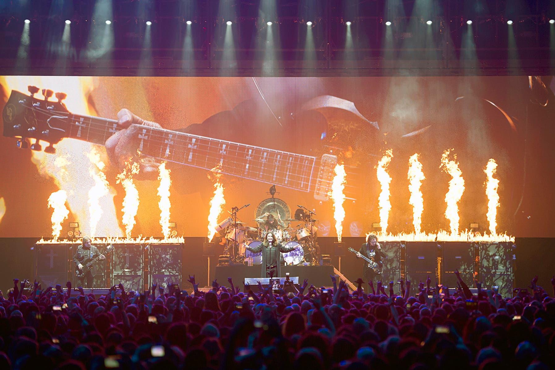 Die Abschiedstour von Black Sabbath endete im Frühjahr 2017 in Birmingham, der Heimatstadt der Bandmitglieder.