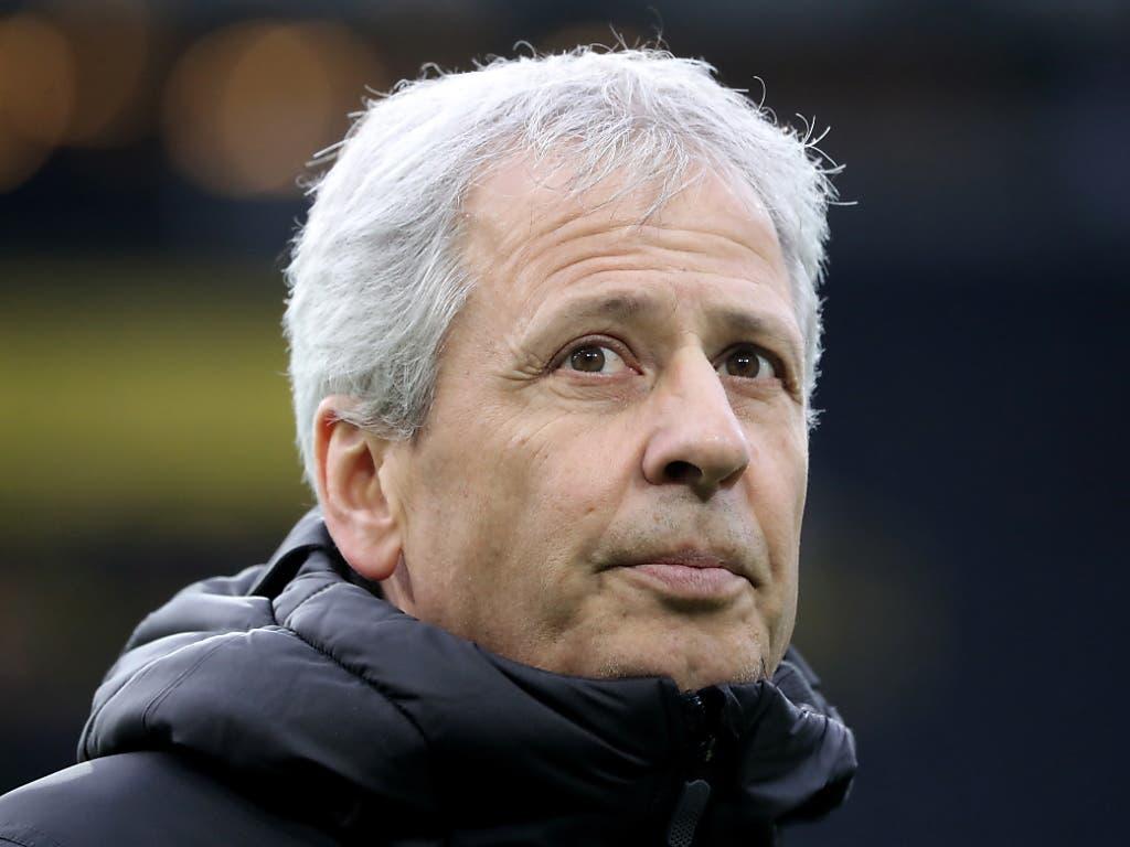 Lucien Favre und Borussia Dortmund bleiben in dieser Saison in der Bundesliga ungeschlagen (Bild: KEYSTONE/EPA/FRIEDEMANN VOGEL)