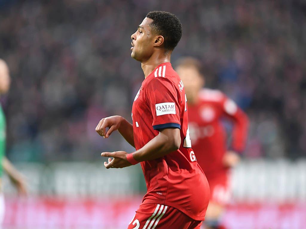 Serge Gnabry traf für Bayern München zweimal (Bild: KEYSTONE/AP dpa/CARMEN JASPERSEN)