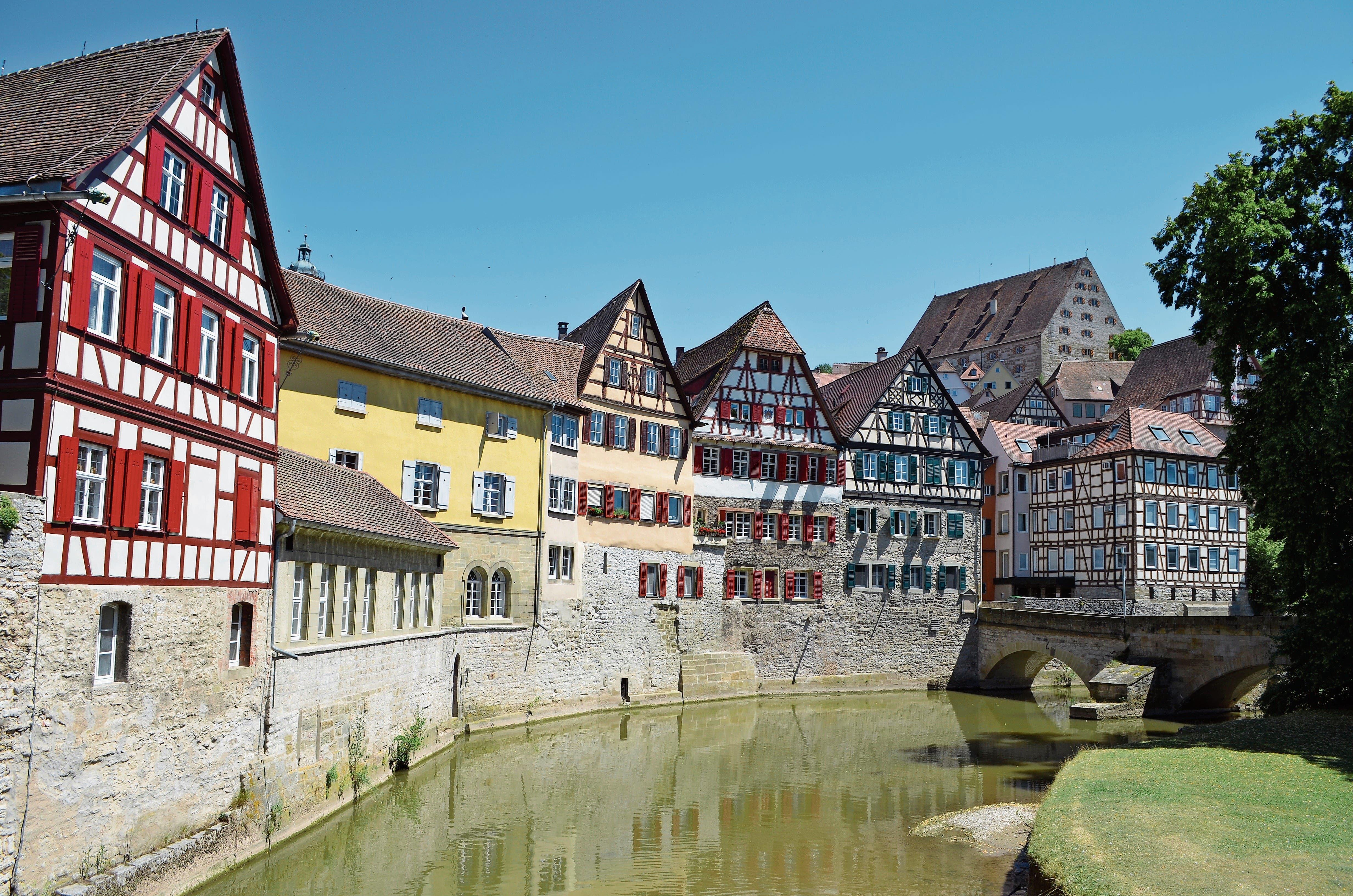 Schwäbisch Hall hat eine malerische historische Altstadt. (Bild: Christa Kamm-Sager)