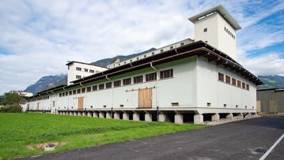 Die Flachlagerhallen in der Werkmatt Uri stehen für temporäre Nutzungen zur Verfügung. (Bild: PD)