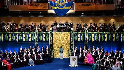 Wissenschaftliche Nobelpreise in Stockholm übergeben