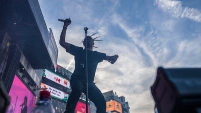 Travis Scott bei seinem Auftritt am Open Air Frauenfeld 2017. (Bild: Thi My Lien Nguyen, 6. Juli 2017)