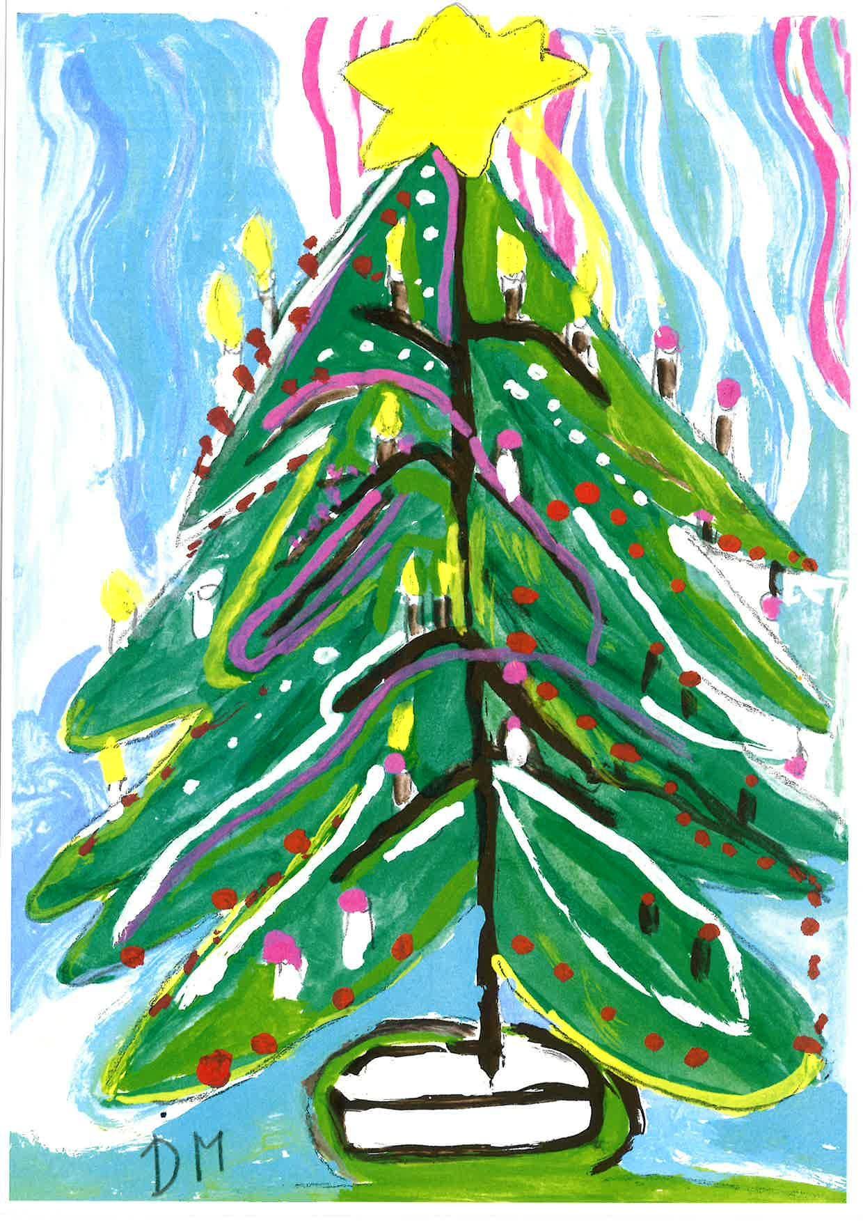 Weihnachtskarte von Daniel Meier.