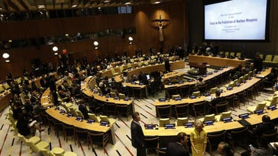 Atomwaffenverbotsvertrag: Parlament erhöht Druck auf Bundesrat