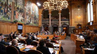 Parlamentarier debattieren während der Wintersession im Ständerat in Bern. (Bild: Anthony Anex/Keystone (Bern, 29. November 2018))