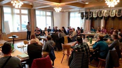 Ideensammlung in Alpnach für eine attraktivere Zentralschweizer Mountainbike-Szene. (Bild: Mountainbike Zentralschweiz)