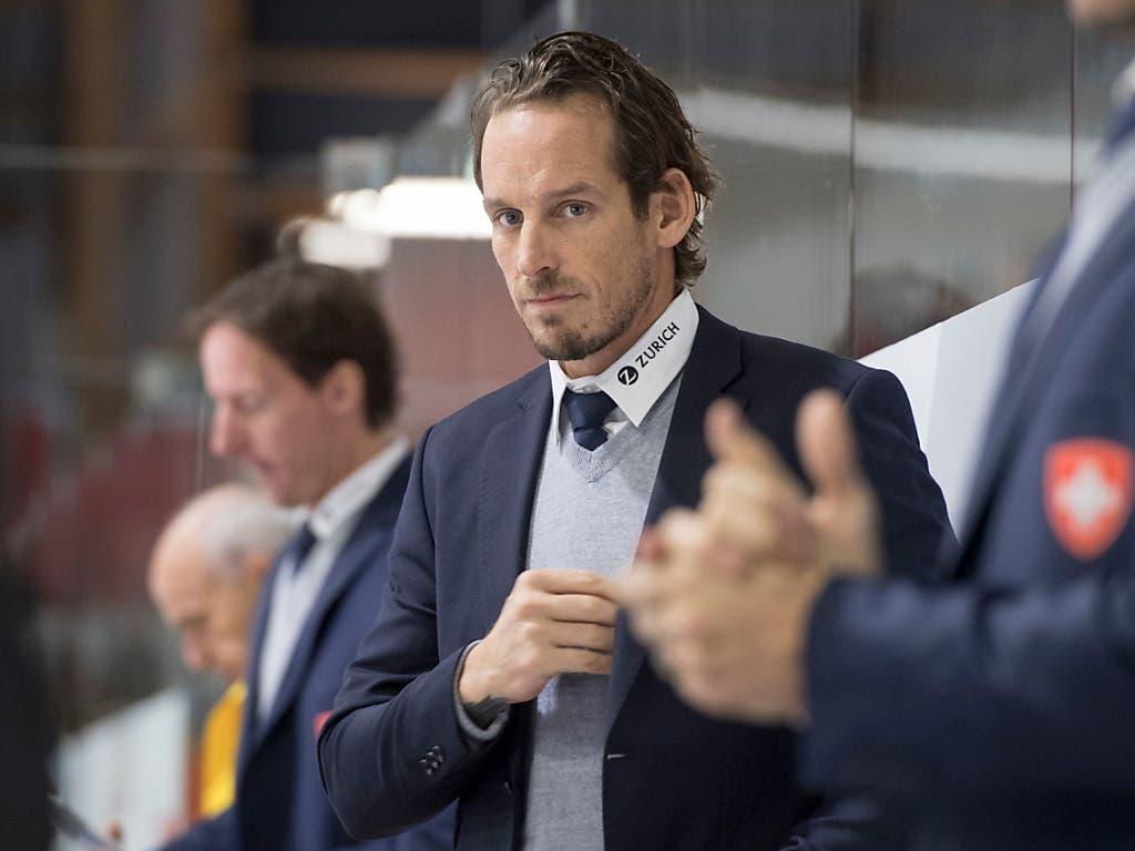 Der Schweizer Coach Patrick Fischer wurde am vergangenen Sonntag zum Trainer des Jahres gewählt (Bild: KEYSTONE/URS FLUEELER)