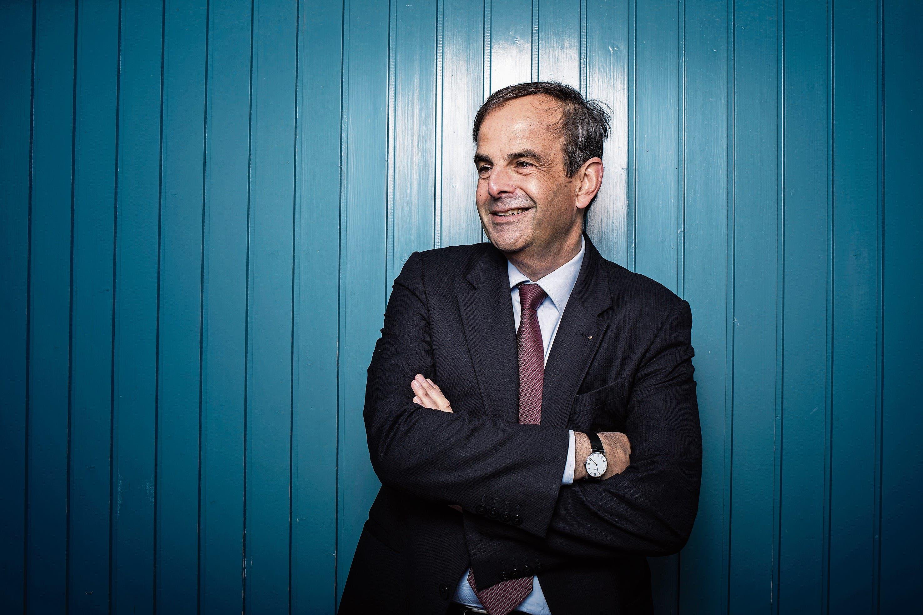 Gerhard Pfister, Nationalrat und Parteipräsident der CVP. (Bild: Stefan Kaiser (Zug, 8. November 2018))