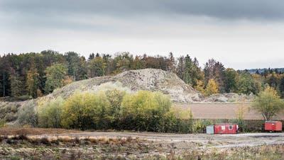 In Warth-Weiningen muss ein grosser Berg kleiner werden