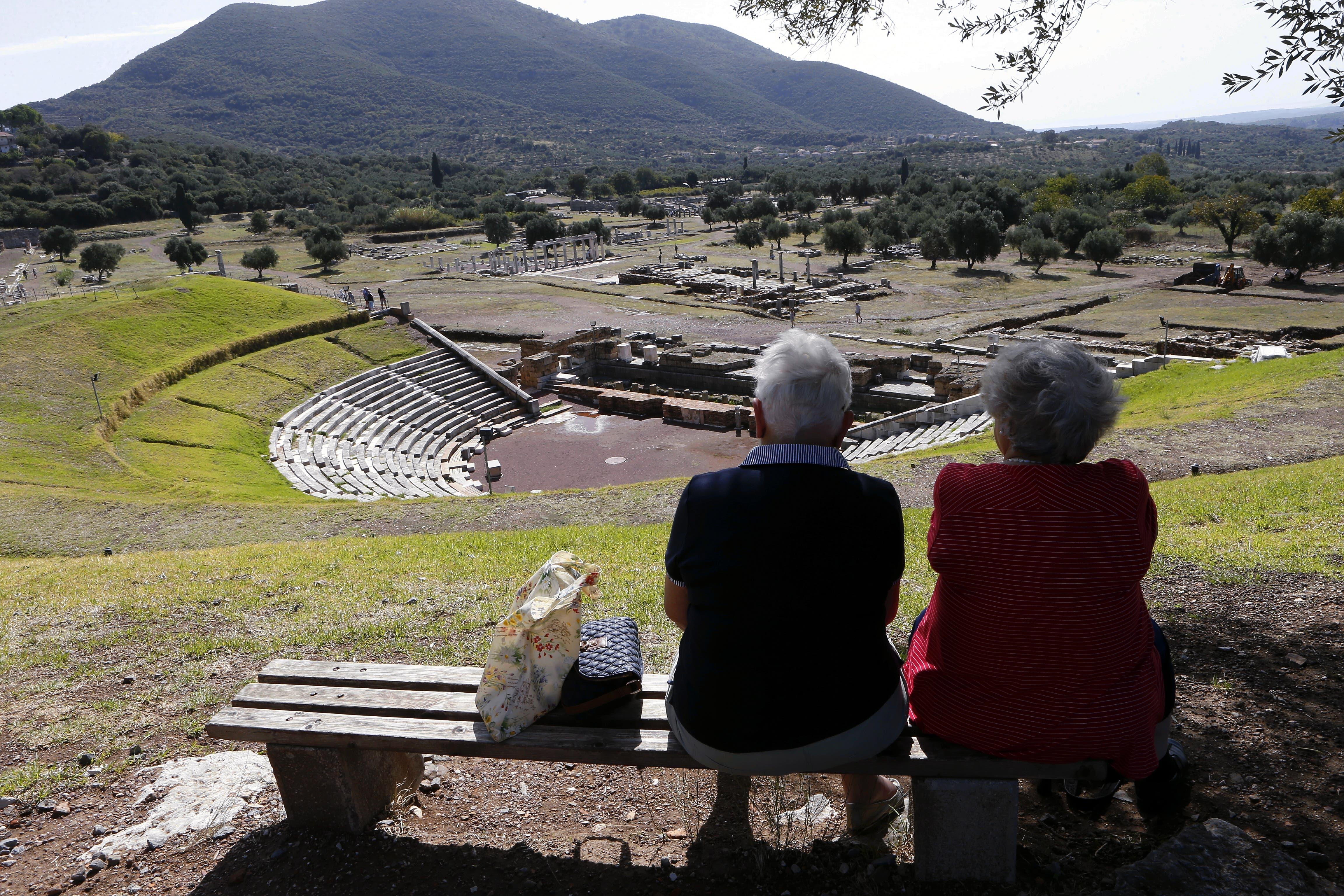 Begeistert nicht nur Archäologen: Die antike Stadt Messene, 30 Kilometer von Kalamata entfernt. (Bilder: Werner Schelbert)