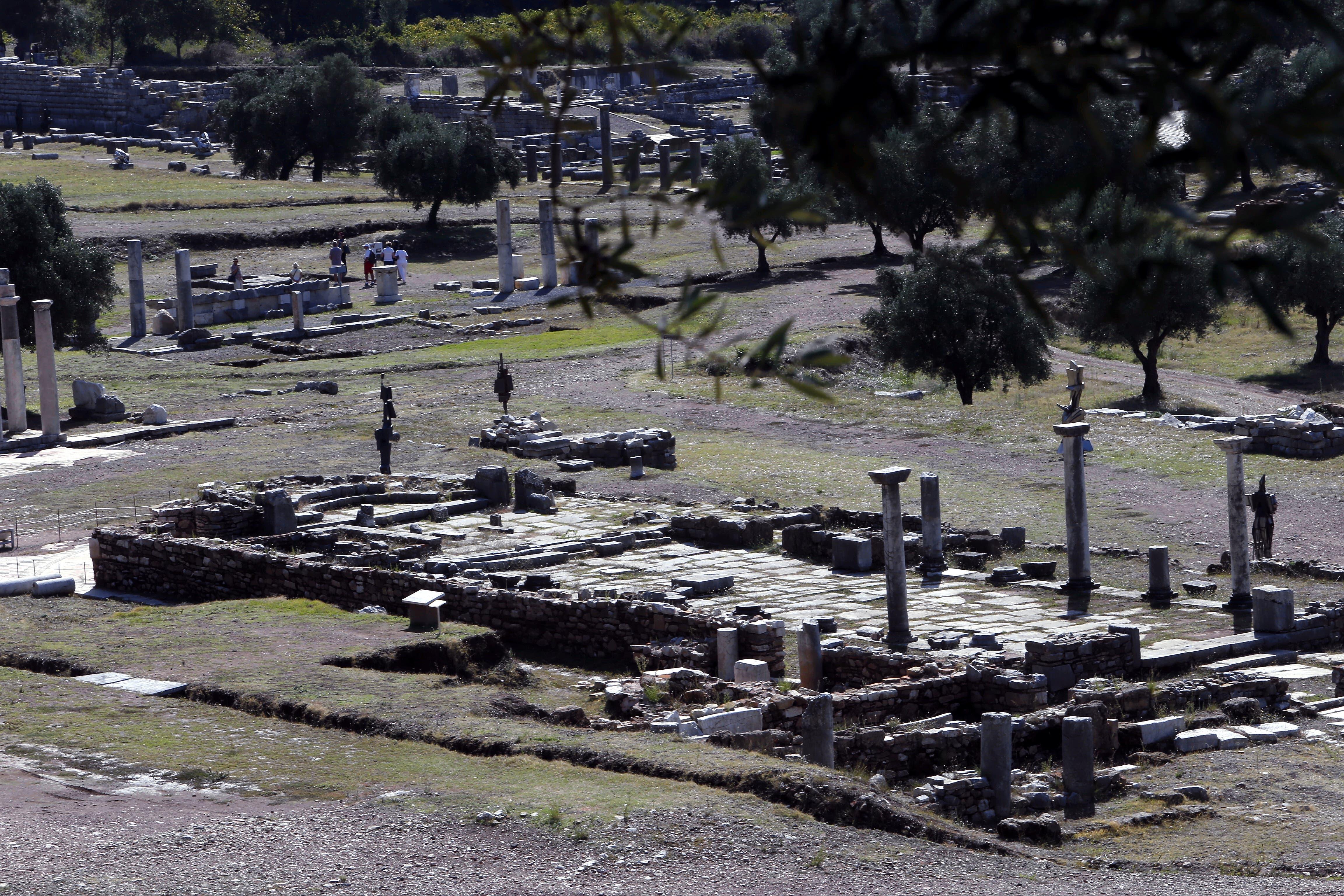 In Messene wird seit 30 Jahren ausgegraben.