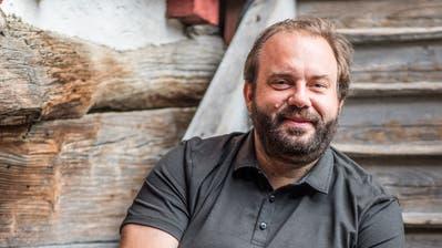 Florian Rexer, Regisseur und Festspielleiter der Schlossfestspiele Hagenwil. (Bild: Thi My Lien Nguyen / 29. Juli 2017)