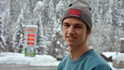 Der Snowboarder Jan Scherrer stammt aus Ebnat-Kappel. (Bild: Urs Huwyler)
