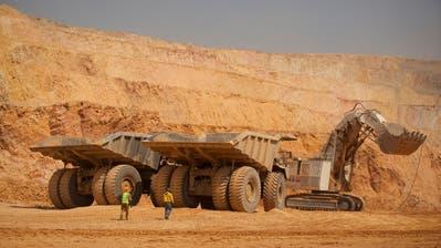 Abbauarbeiten in einer Katanga-Kupfermine in Kolwezi in der Demokratischen Republik Kongo. (Bild:Simon Dawson/Bloomberg/Getty)