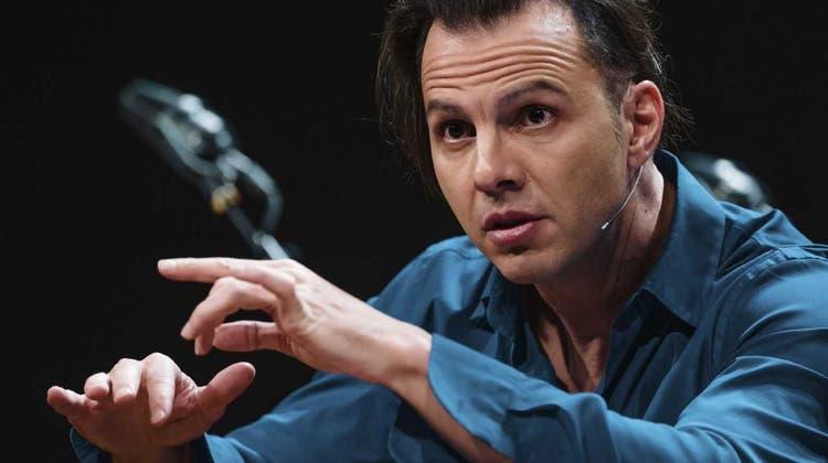 Der 46-jährige Teodor Currentzis ist seit September 2018 Chefdirigent des SWR Symphonieorchesters. (Bild: obs/SWR - Südwestrundfunk)
