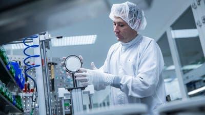 In Haag werden hochwertige Vakuumventile produziert. (Bild: PD)