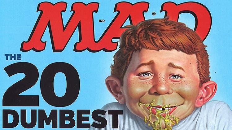 Das Satire-Magazin «MAD» zieht einen Schlussstrich