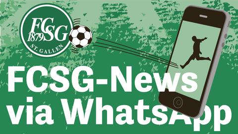 Jetzt abonnieren:FCSG-News via Facebook Messenger erhalten