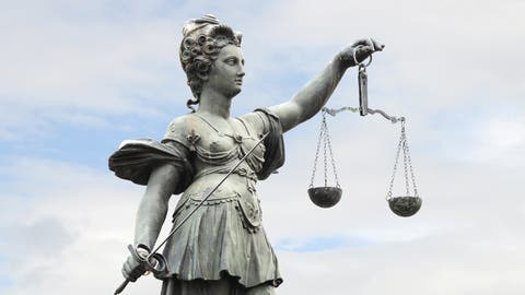 Justitia. (Bild: Getty)