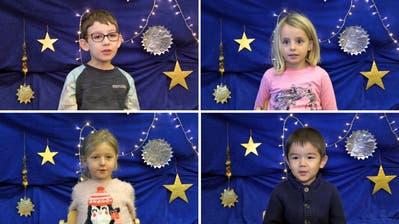 Kinder erklären Weihnachten
