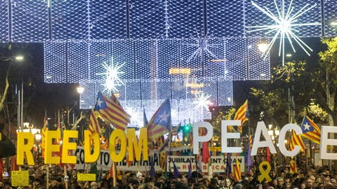 Über 60 Verletzte bei Protesten gegen Zentralregierung in Barcelona