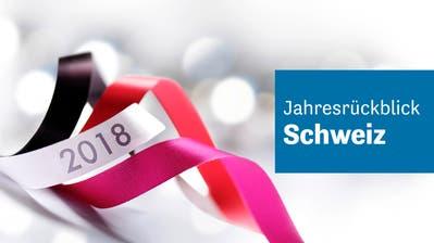Das bewegte die Schweiz 2018