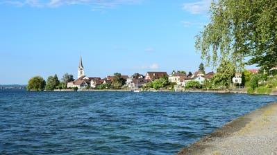 Das Dorfbild von Berlingen mit der evangelischen Kirche. (Bild: Samuel Koch)