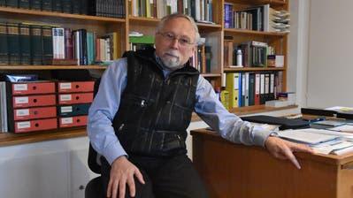 Der Nesslauer Pfarrer Lothar Schullerus ist als Rumäniendeutscher in Südsiebenbürgen aufgewachsen. (Bild: Anina Rütsche)