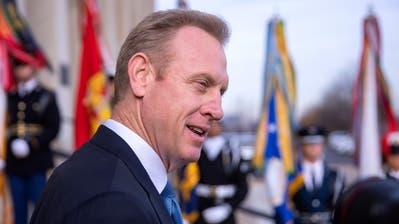 Patrick M. Shanahanwird neuer Verteidigungsminister der USA. (Bild: Erik S. Lesser / EPA, (Arlington, 19. Dezember 2018)