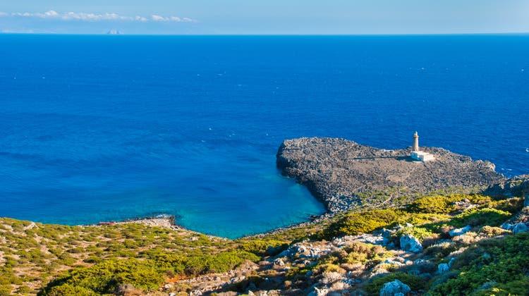 Auf der griechischen Insel Antikythiraleben derzeit nur noch 24 Personen.