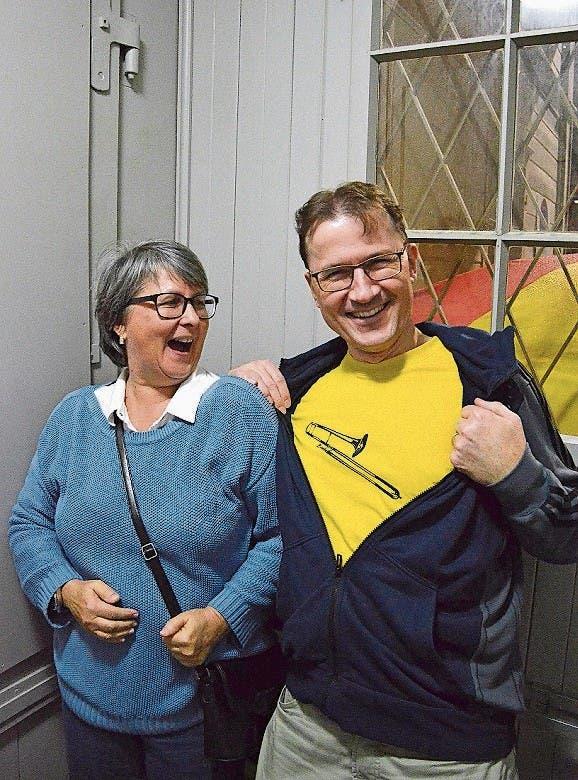 In Stimmung: Ursula Garbauer und Christian Maeder.