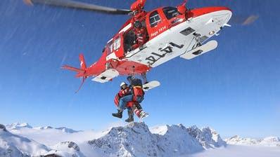 Rega mit über 110 Rettungsflügen über die Weihnachtstage