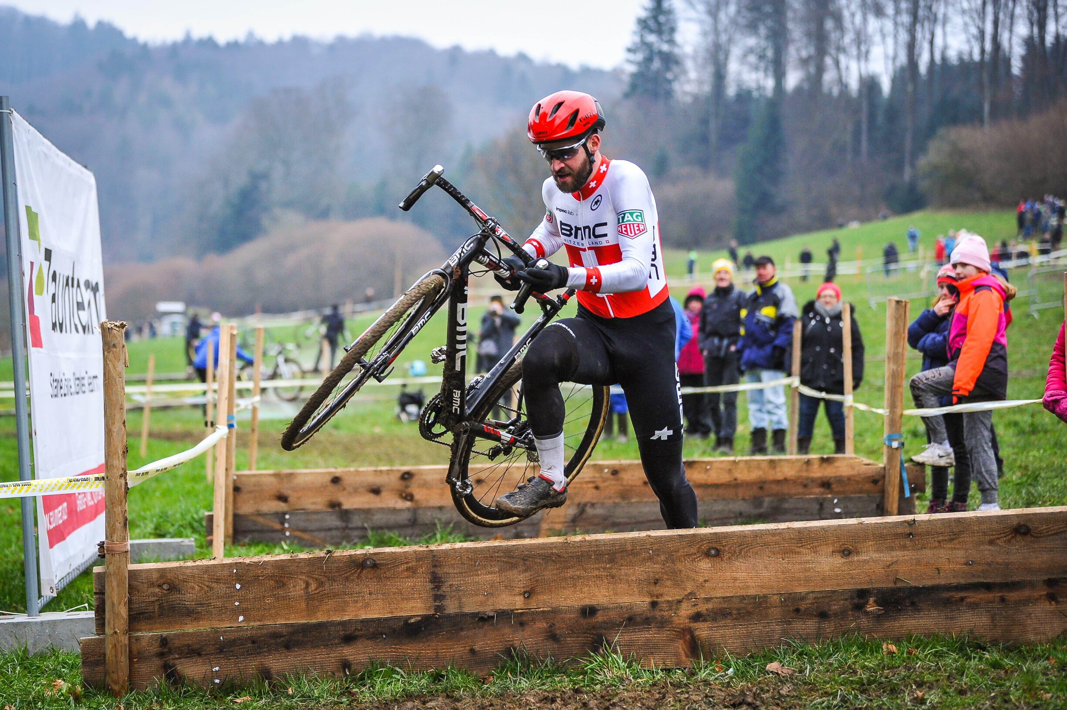 Lars Forster wird Zweiter. (Bild: Chris Roos (Pfaffnau, 26. Dezember 2018)