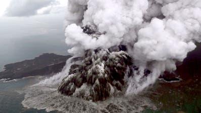 Indonesien erhöht Warnstufe für Vulkan Anak Krakatau