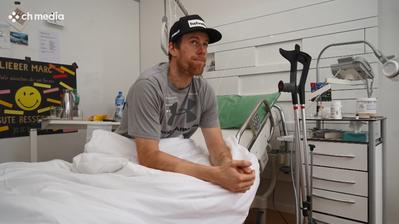 Skifahrer Marc Gisin nach seinem Sturz: «Ich bin froh, am Leben zu sein»