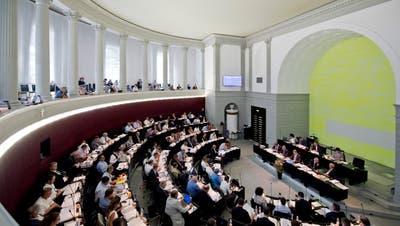 Blick in den Kantonsratssaal Luzern.(Archivbild: Pius Amrein)