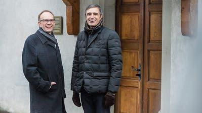 Ein Schlüssel, viele Gotteshäuser und Thomas Harder als neuer Präsident der Frauenfelder Katholiken
