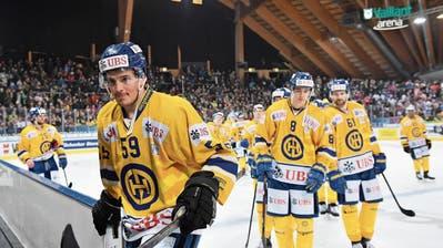 EVZ-Spieler DarioSimion tut dem HC Davos am Spengler-Cup gut