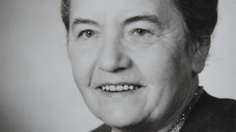 Ein Portrait der Handarbeitslehrerin und Dorfchronistin Anny Keller. (Bild: Bürgerarchiv Weinfelden)