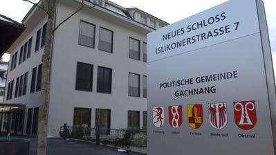 Die Gemeindeverwaltung im Neuen Schloss Gachnang. (Bild Nana do Carmo)