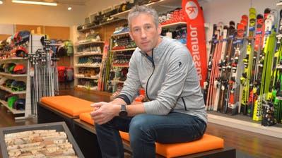 Philipp Portmann, Geschäftsinhaber Gisin-Sport AG, muss seinen Sportartikelladen in der Weinfelder Innenstadt schliessen. (Bild: Mario Testa)