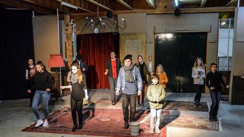 Sirnacher Theater Jetzt probt für Premiere am 13. Dezember